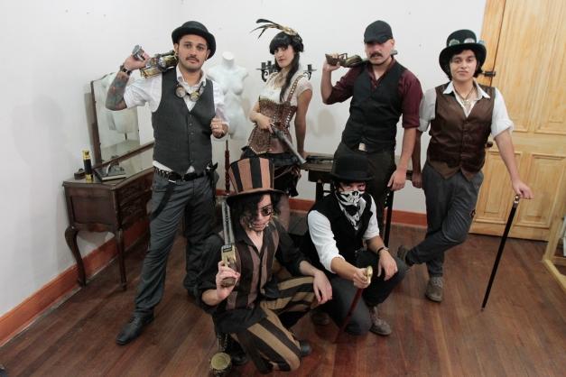 Comunidad steampunk en Chile
