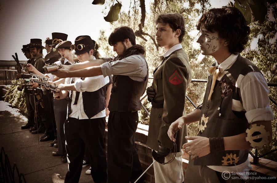 UNA FASCINANTE COMUNIDAD:STEAMPUNKS CHILE....... (4/6)