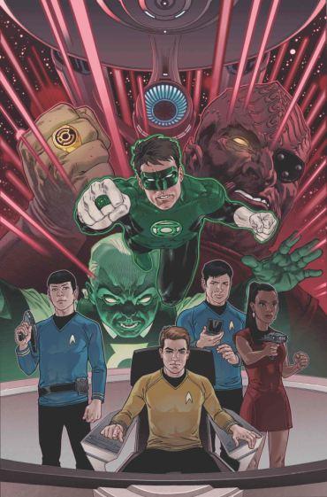 Star Trek - Linterna Verde 1
