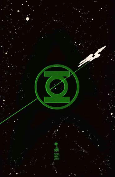 Star Trek - Linterna Verde 2